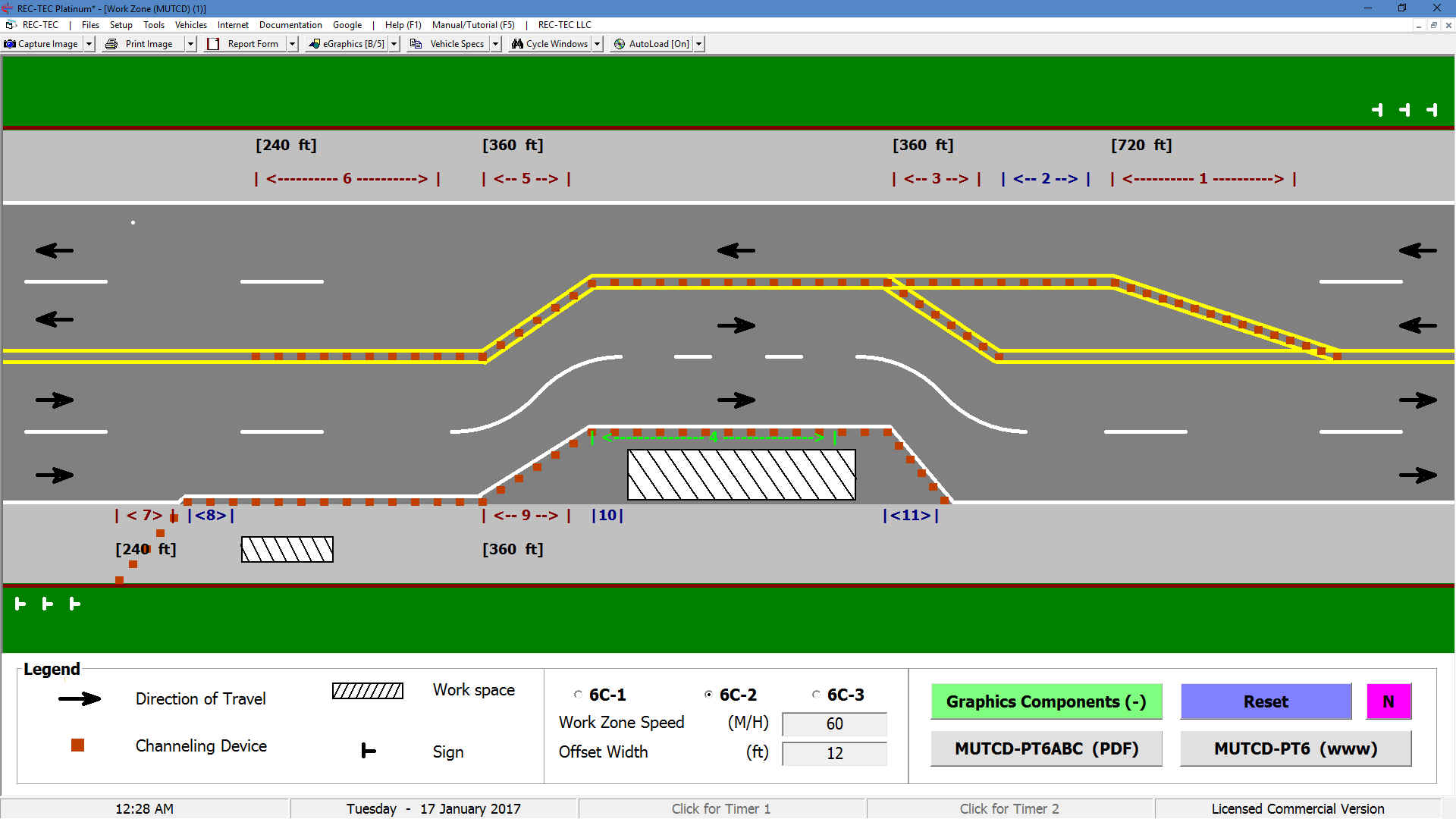 REC-TEC Accident Reconstruction Software